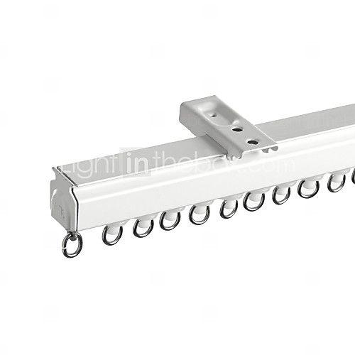 Modern Nature Aluminium Alloy Straight Track Window Curtain Rod