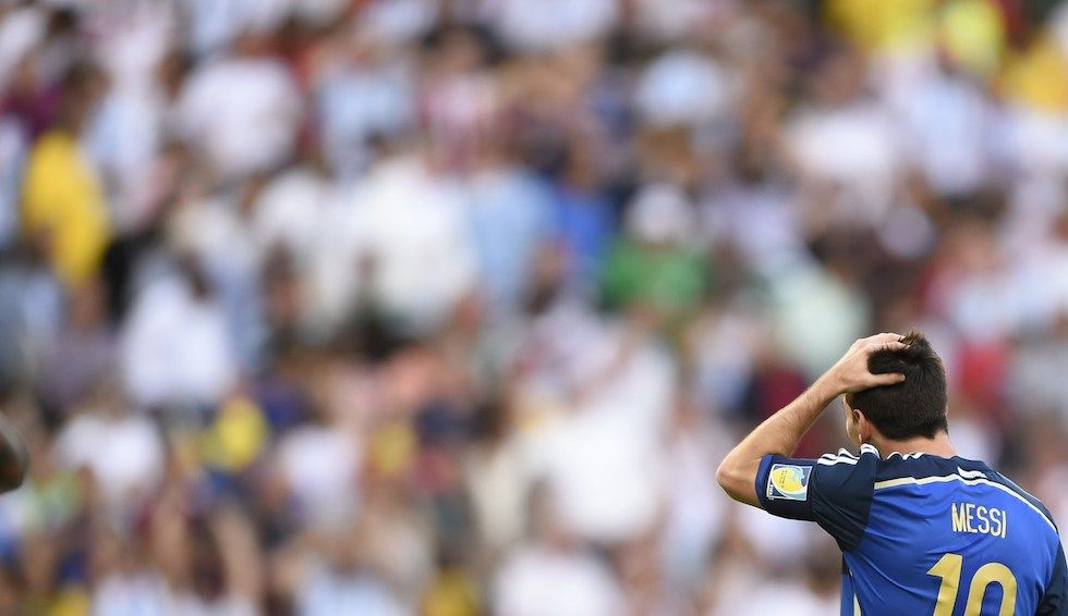Germania campione del mondo: L'argentino Lionel Messi - Il Post