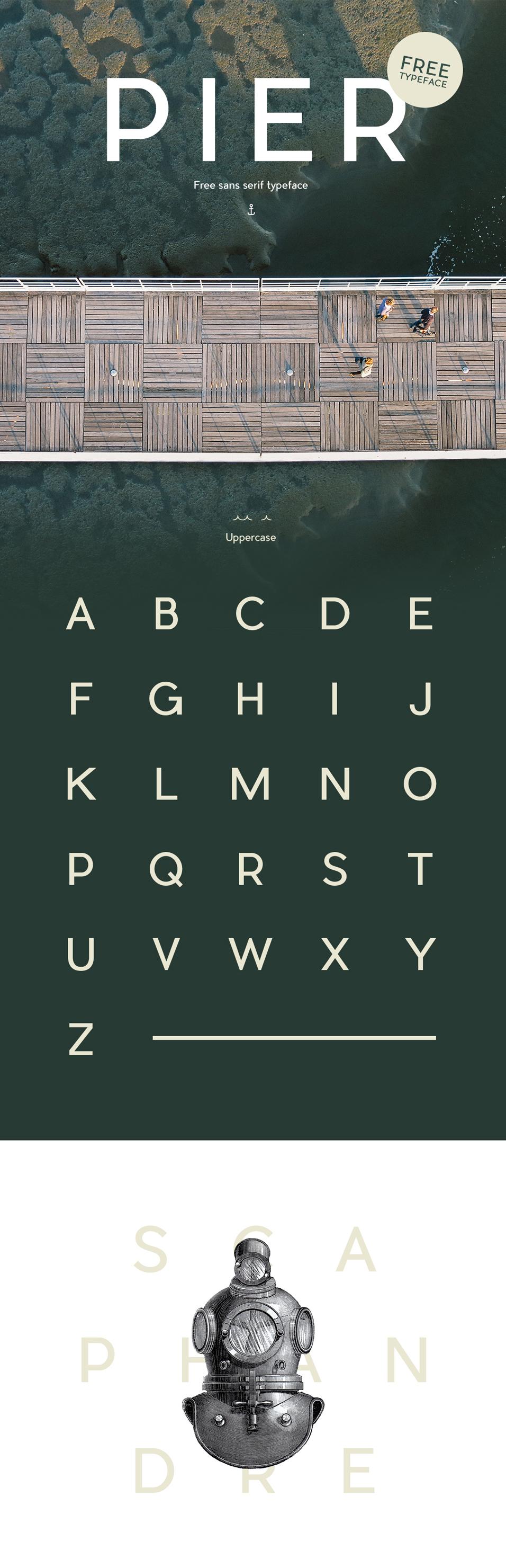 Pier - Free Typeface