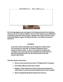 Beowulf The Reality Of Monsters Project Beowulf Beowulf Lesson Plans British Literature