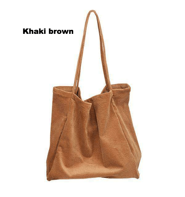 c32b5f750d5 Large Cord Eco Tote Bag in 2019 | Outfit. | Bags, Tote bag, Reusable ...