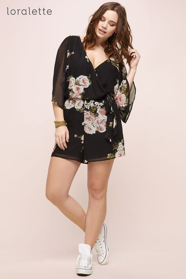 f4d14b931070 Girl power! Soft florals give you a super femme vibe. Trendy Plus Size  Clothing