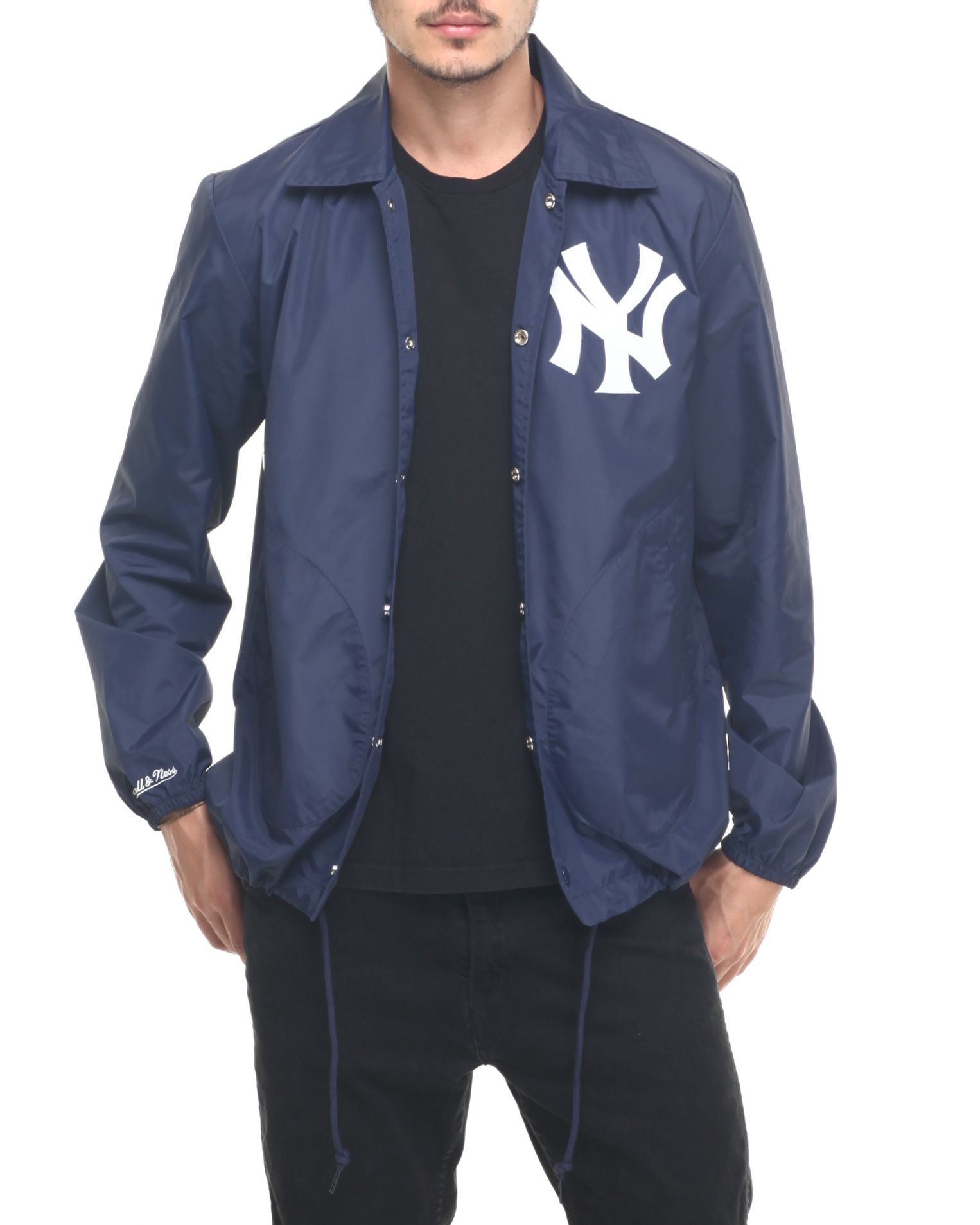e979397d1 Buy New York Yankees MLB Assistant Coach Jacket Men s Outerwear from ...