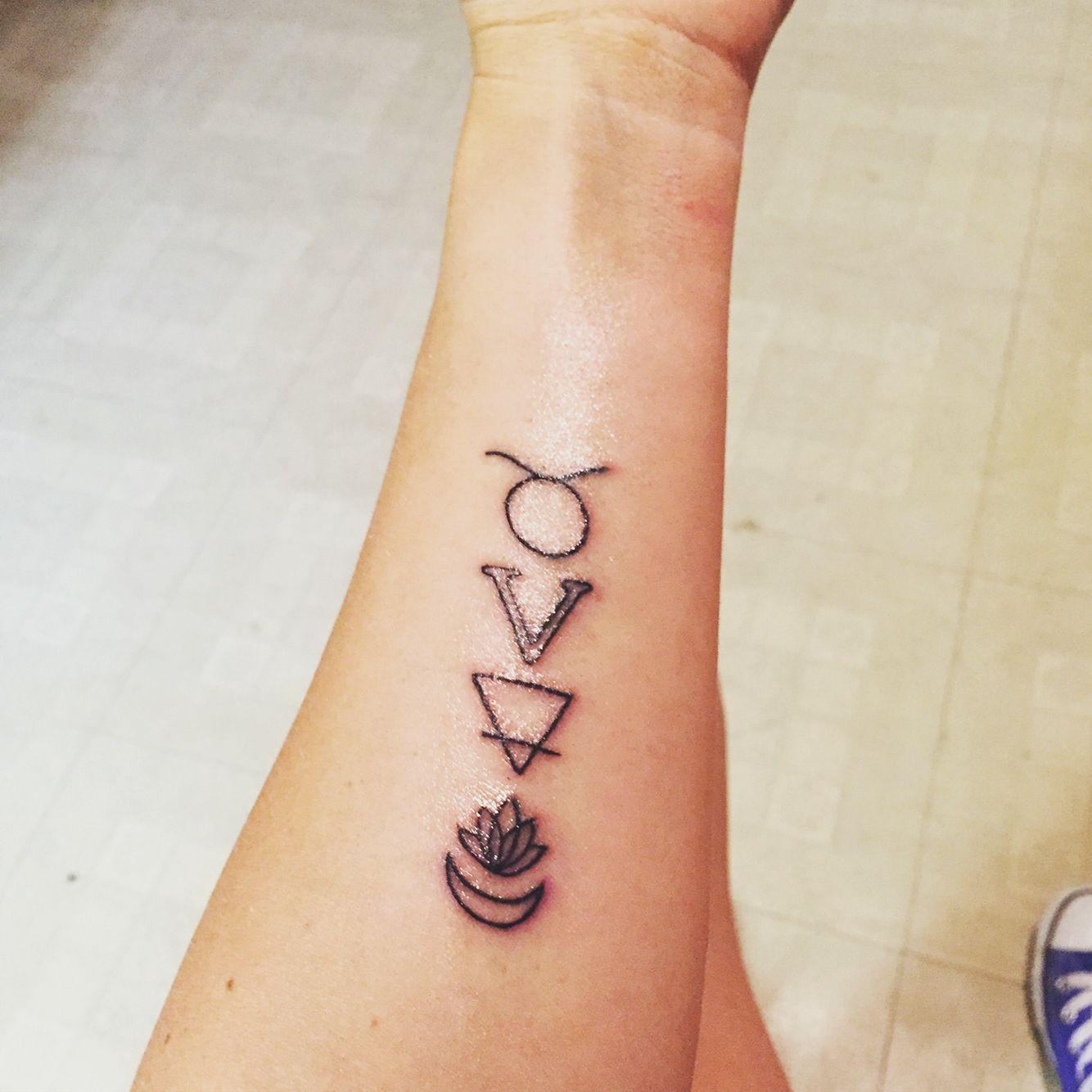 My Taurus tattoo | Tattoo Ideas | Taurus tattoos, Tattoos, Horoscope ...