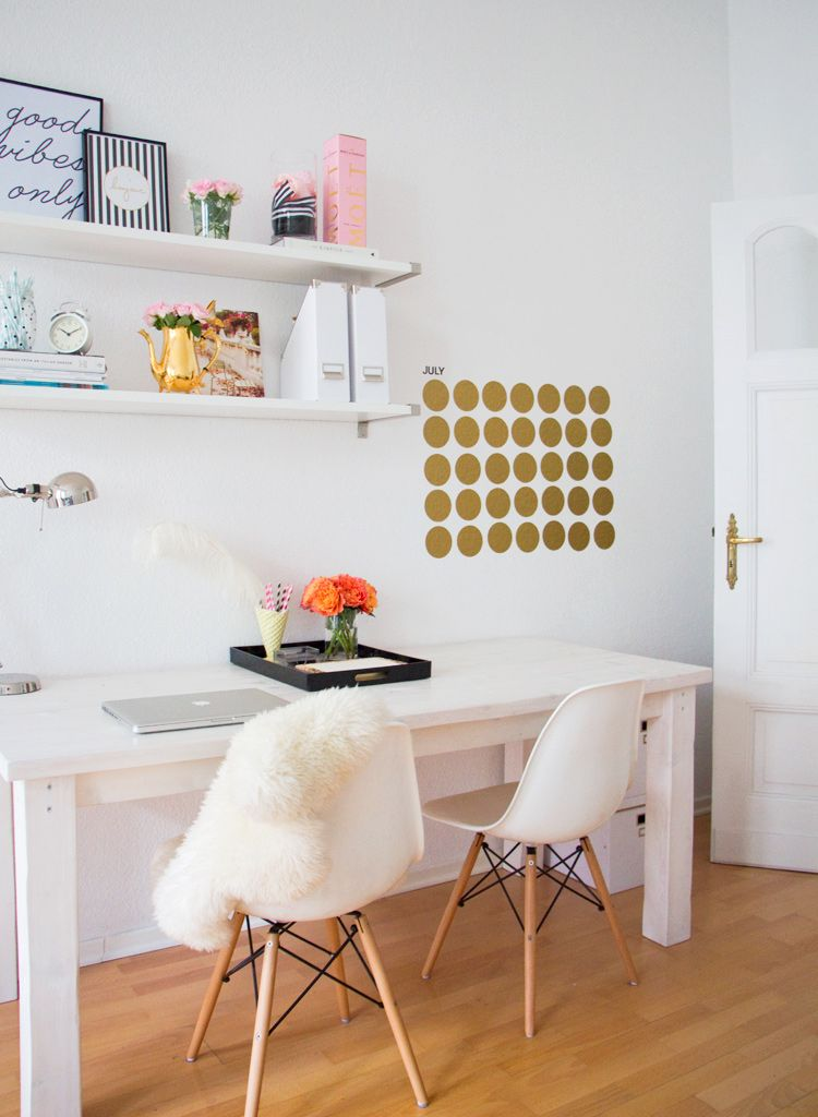 fresh clean workspace home. Not Your Standard Office - White And Gold Workspace Fresh Clean Home A