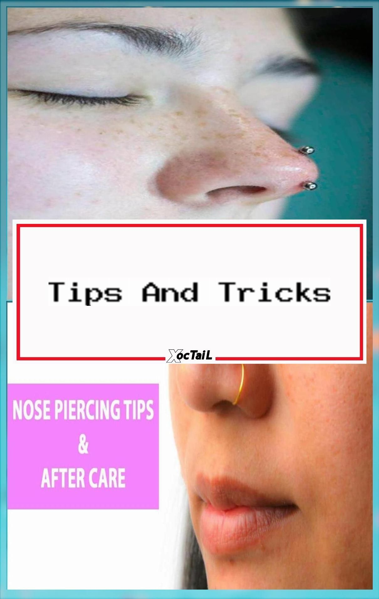 Care Fast Healing Health Nose Piercing Care