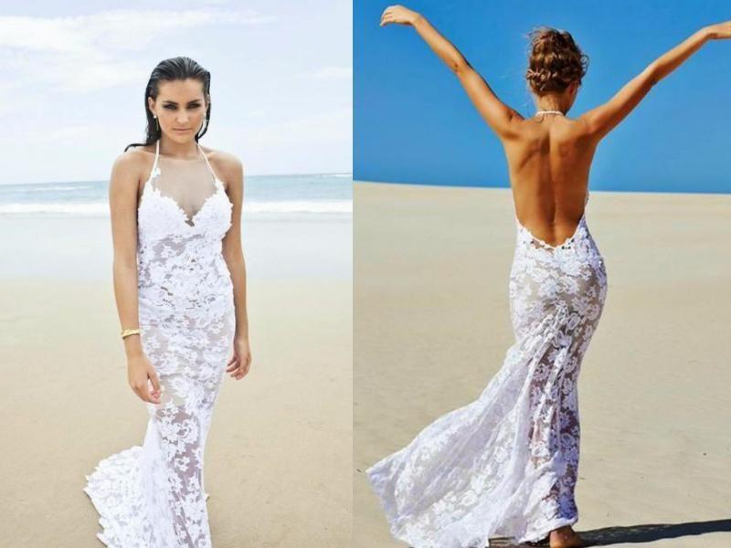 Strandhochzeitskleider-28 | Hochzeit | Pinterest ...