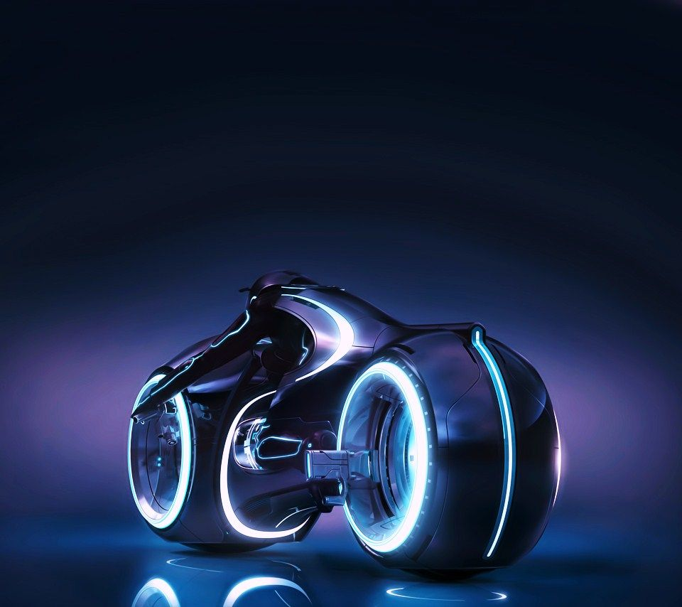 Tron Legacy Light Cycle By Daniel Simon