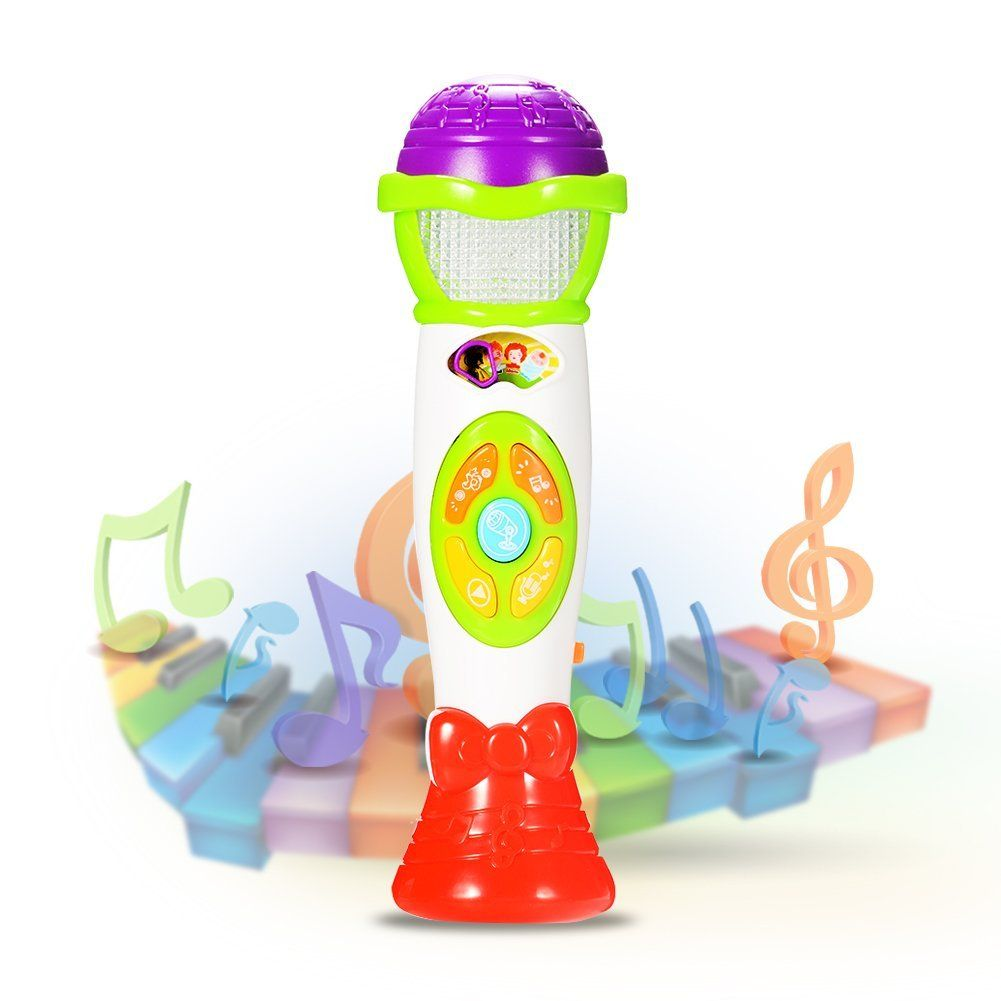 Acekid microphone toys for kids voice changing and