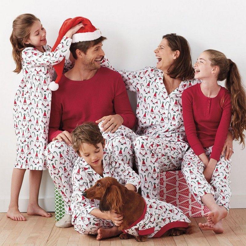 Santa Matching Family Pajamas  5bc6bfb8fab5