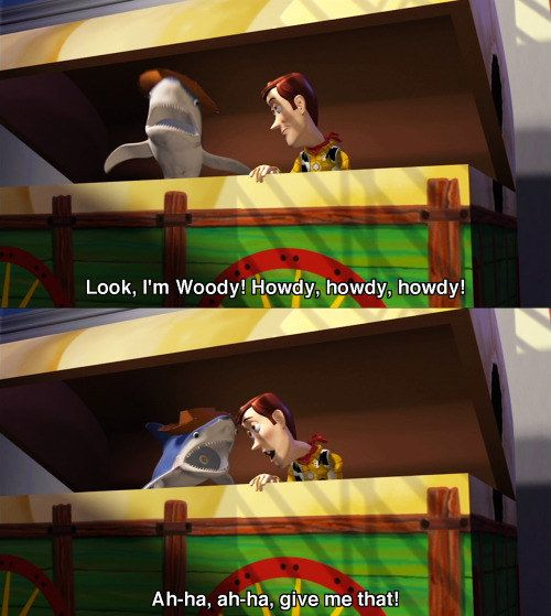 23 Hilarious Toy Story Moments That Ll Make You Laugh Every Time Toy Story Funny Disney Movie Funny Toy Story Quotes