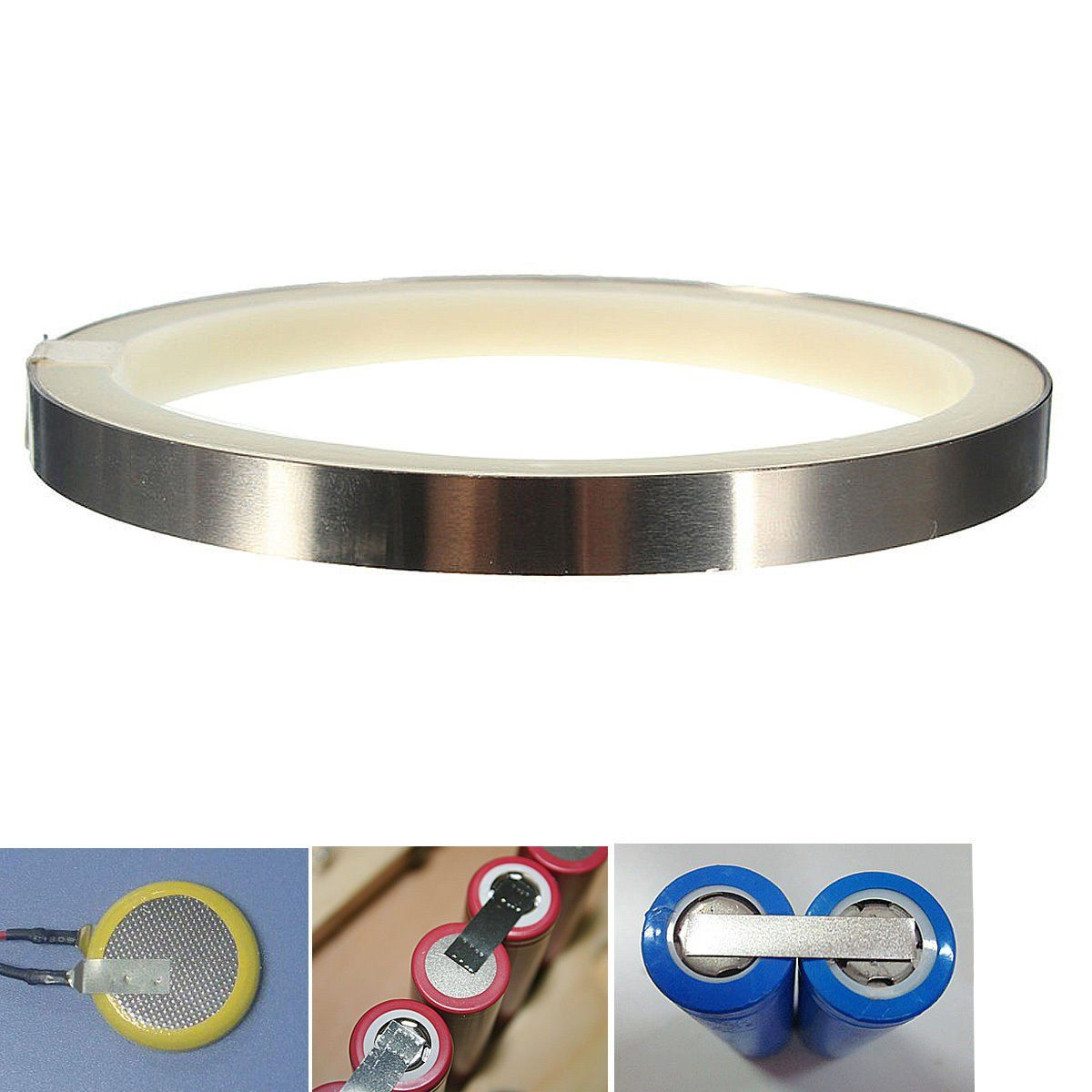 2m 0 15x8mm Nickel Plated Steel Sheet Strap Tape Strip For Battery Spot Welding Descrptiion Material Nickel Plated Steel Spc Steel Sheet Spot Welding Plating