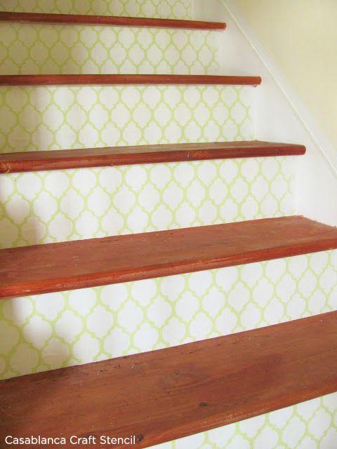 Stair Riser Stencils   Google Search
