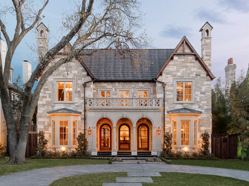 33 Million Newly Built Stone Brick Home In University Park