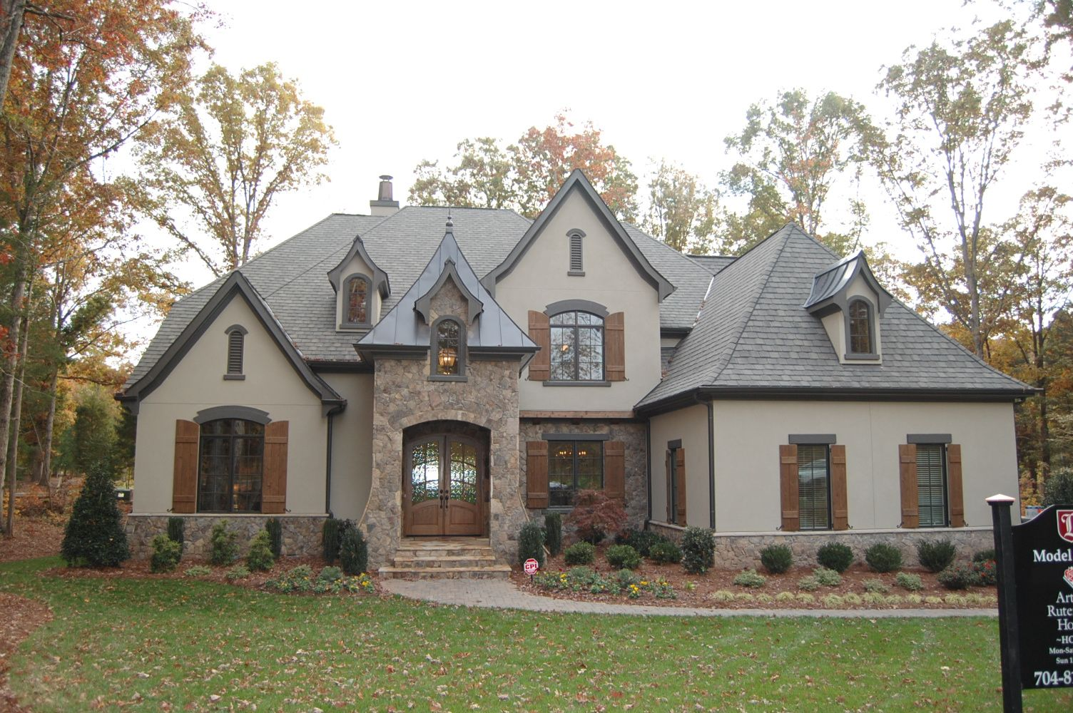 Bordeaux 1221 model bc93 a r h exteriors in 2019 house - French country exterior house colors ...