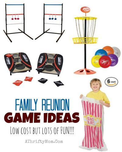 Family reunion game ideas low cost but lots of fun for Picnic food ideas for large groups