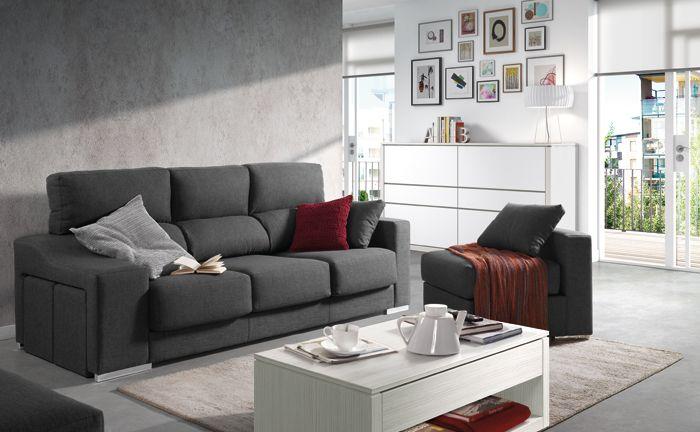 #sofá Theo. KIBUC, muebles y complementos
