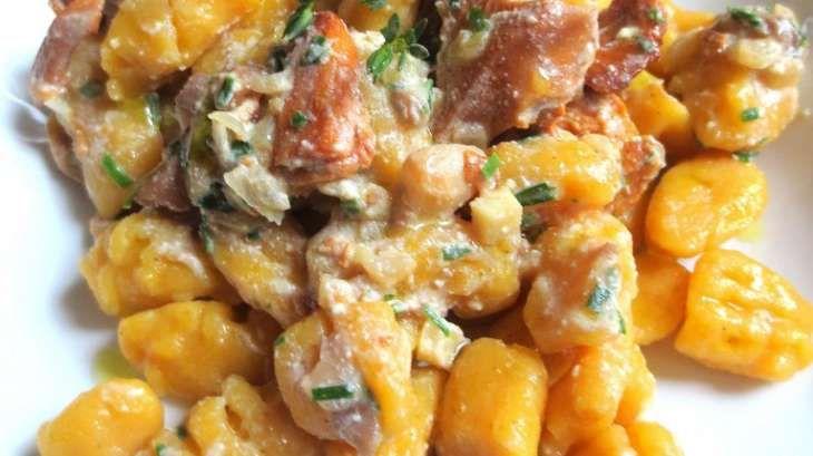 Gnocchis Sans Gluten Au Pâtisson Et Au Potimarron Sauce Aux - Je cuisine sans gluten