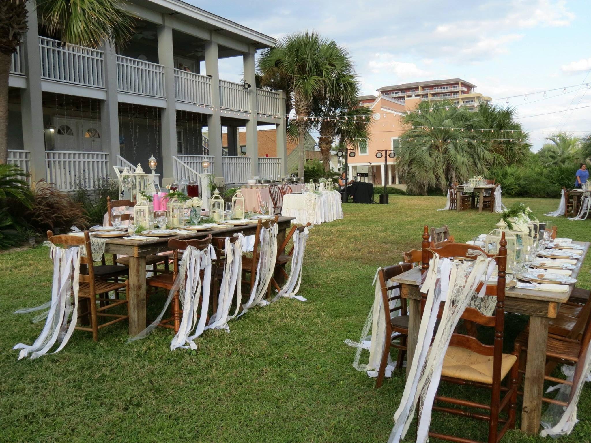 Beautiful Vintage Inspired Beach Wedding Destin FL Vendors