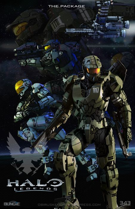 halo legends the package armor