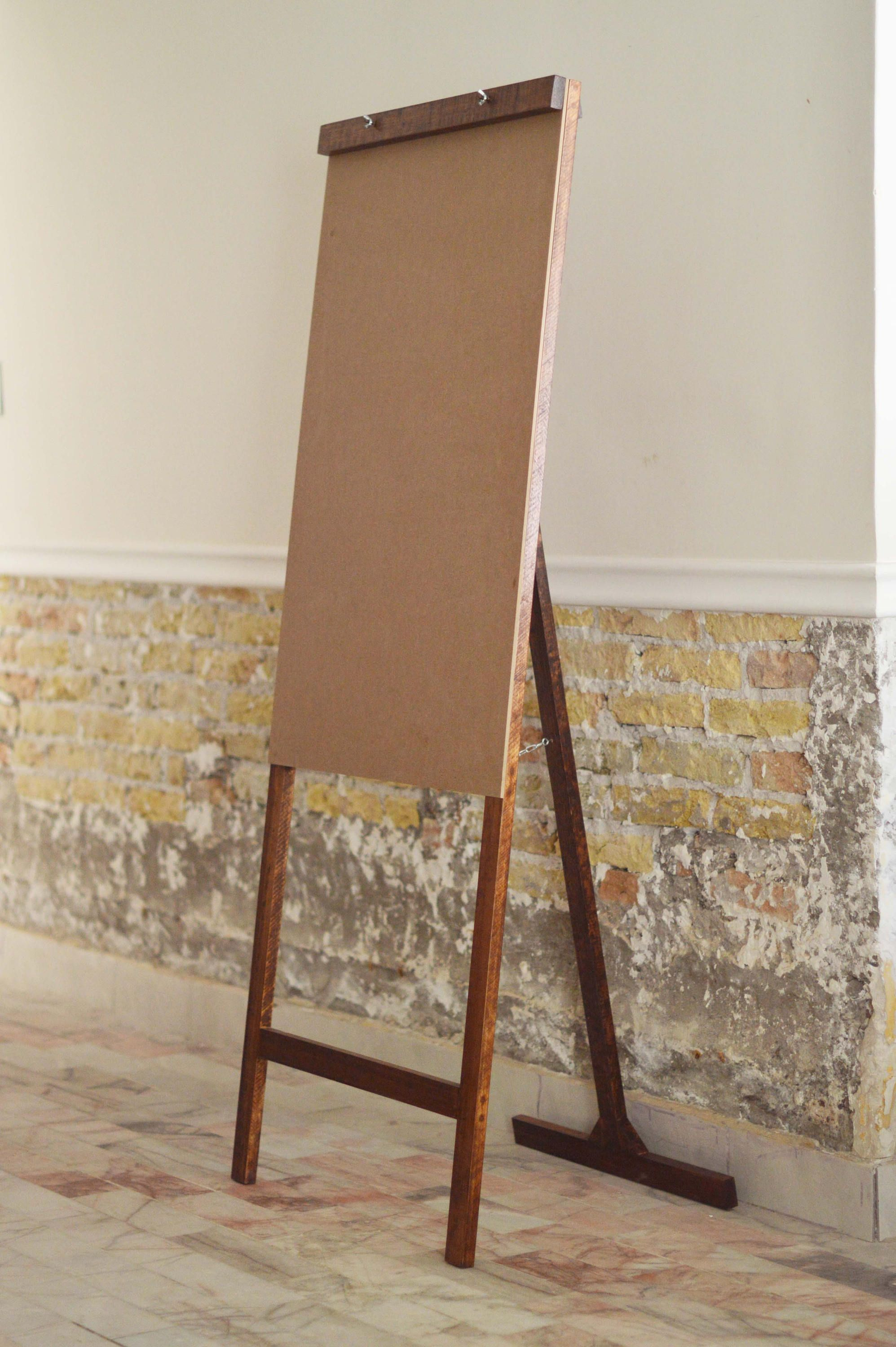 Furniture rustic newsprint in wood for office, home or school ...