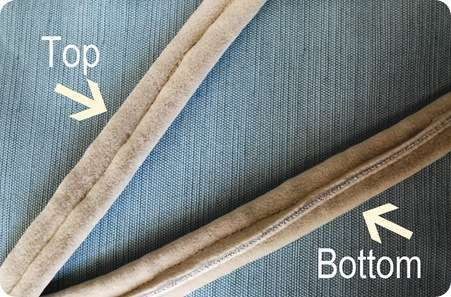 Double Welt Cording The Trick To Hiding All At Home Re Upholstery