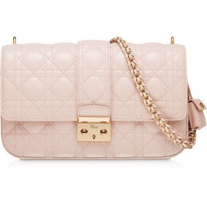 Miss Dior Rose Poudre Leather Bag