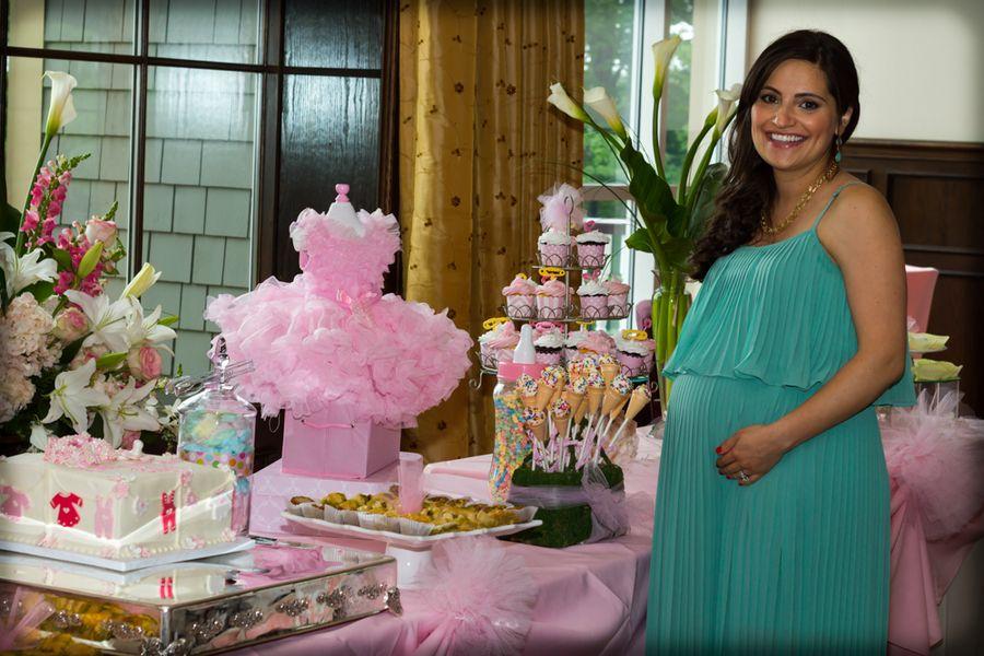 elegant baby showers tables centerpiece home confetti elegant rh pinterest com