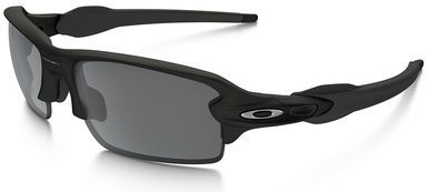 cfbab236a Oakley Flak Jacket 2.0 Sunglasses with Matte Black Frame and Black Iridium  Lens
