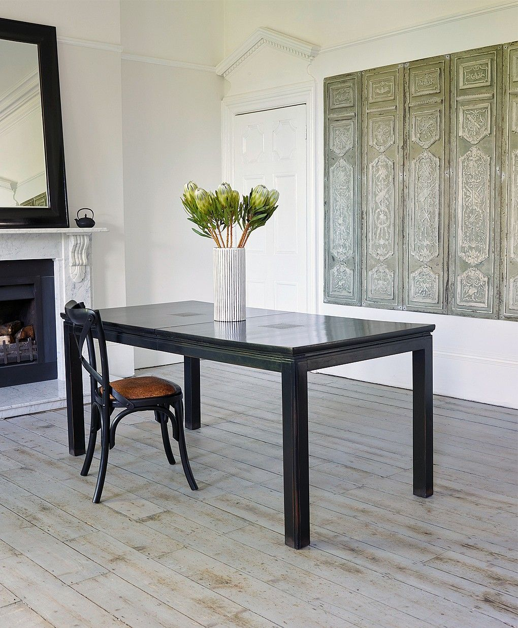 Canton Black Dining Table From Lombok Nice Look