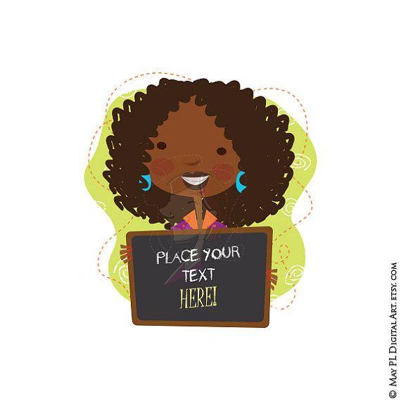 Classroom Teacher Clip Art African American Black Teacher Back Etsy Teacher Clipart Clip Art Teacher Classroom