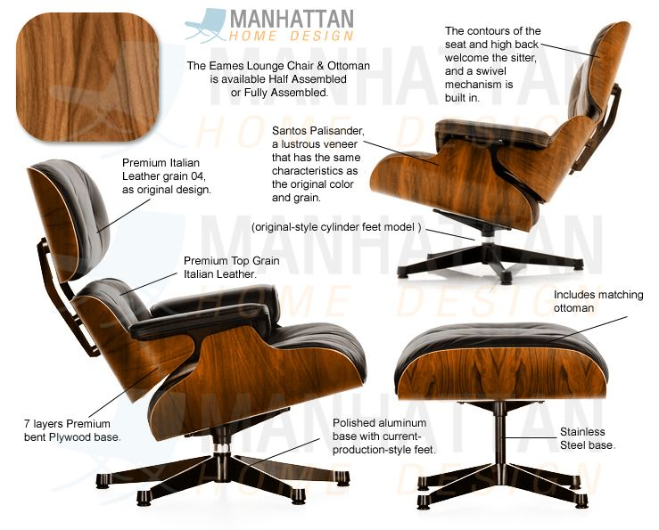 die besten 25 eames style lounge stuhl ideen auf pinterest retro esstisch moderne lounge und. Black Bedroom Furniture Sets. Home Design Ideas