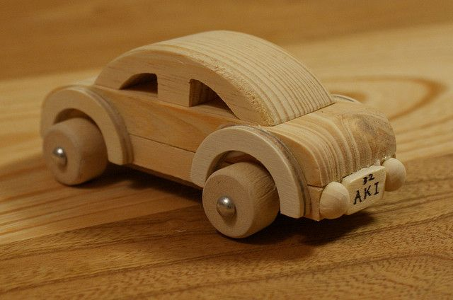 Craft Project Ideas Wooden Car Crafting