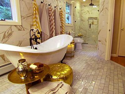 Turkish inspired bathroom done by Genevieve Gorder