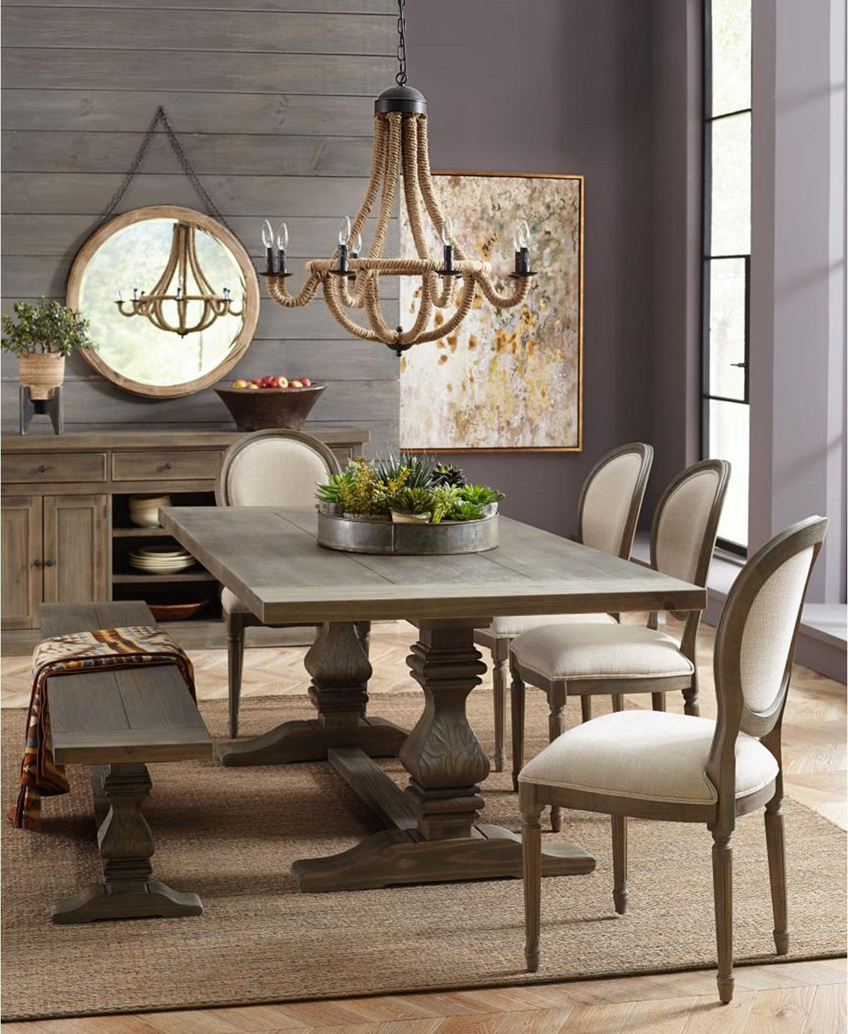 Furniture Tristan Trestle Dining Collection