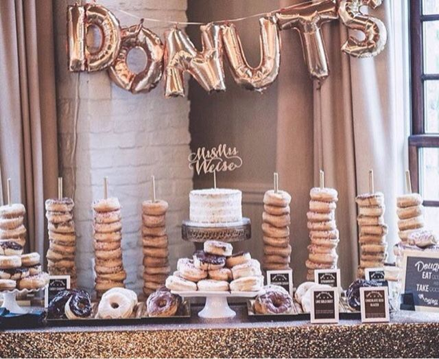 Mother of the Bride - Blog de Casamento e Dicas de Casamento para Noivas - Por Cristina Nudelman: Donut Party - Uma doçura de festa!