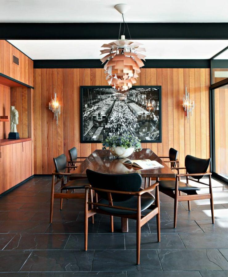 Maison à l\u0027intérieur éclectique à Sierre Madre en Californie Deco