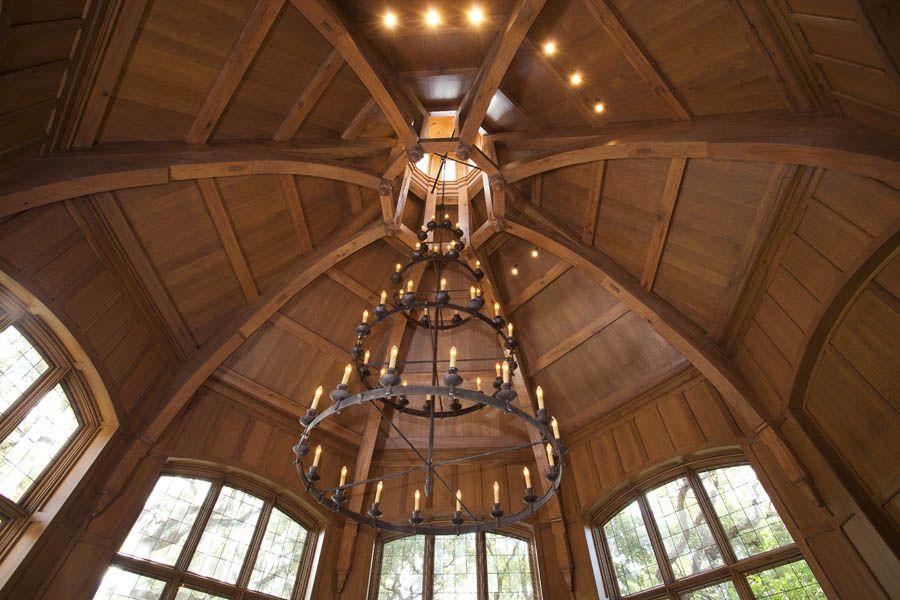 Timber Framed Octagon Ceiling www.texastimberframes.com https://www ...