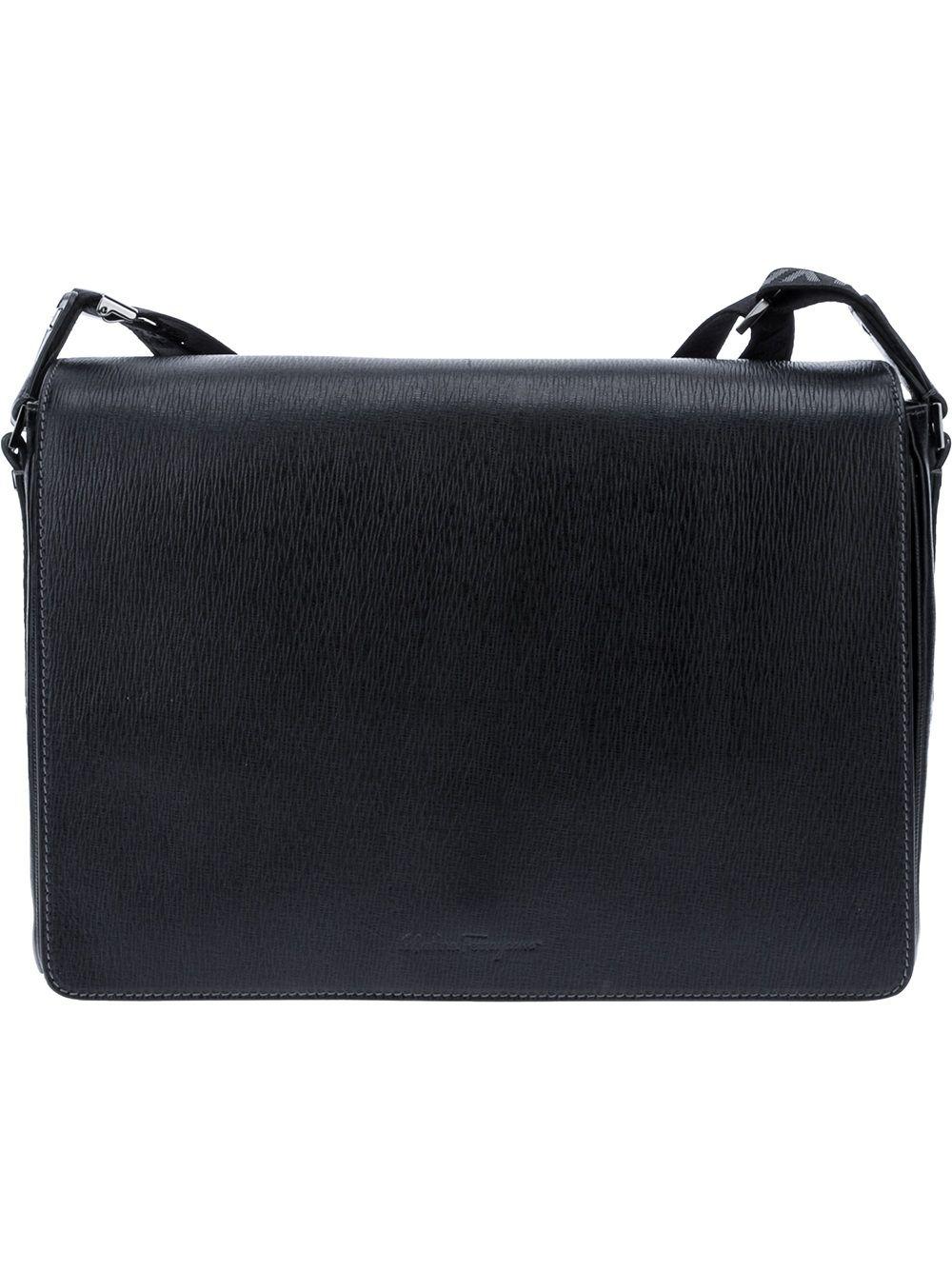 392b1da0d3 Salvatore Ferragamo  Revival  Messenger Bag - Stefania Mode - farfetch.com