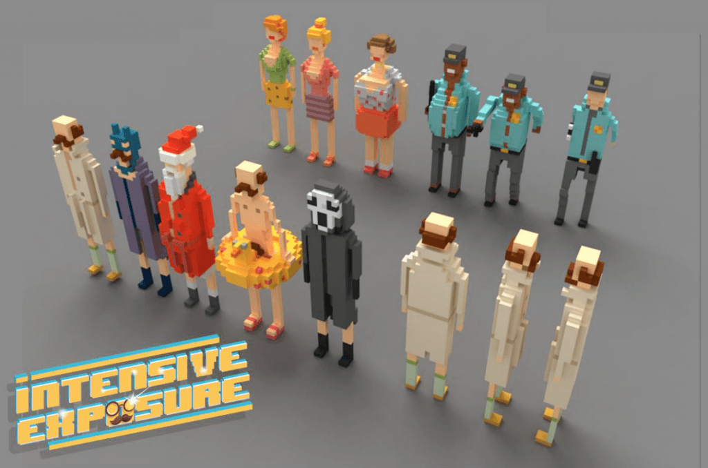 MagicaVoxel, epic games, ue4, unreal engine 4, pixel, voxels