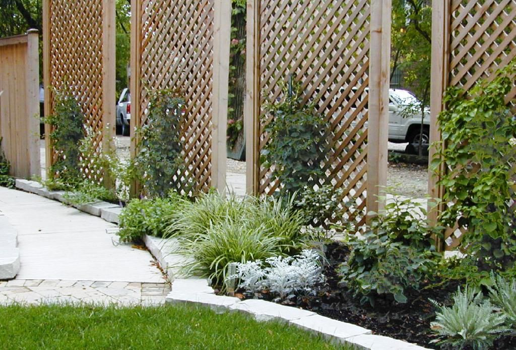 Front yard landscape ideas for privacy home design for Garden privacy ideas