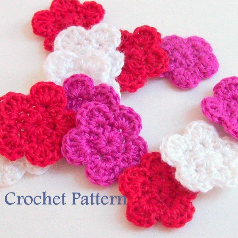 Flower Crochet Pattern PDF | logratis.es | Pinterest | Tejido