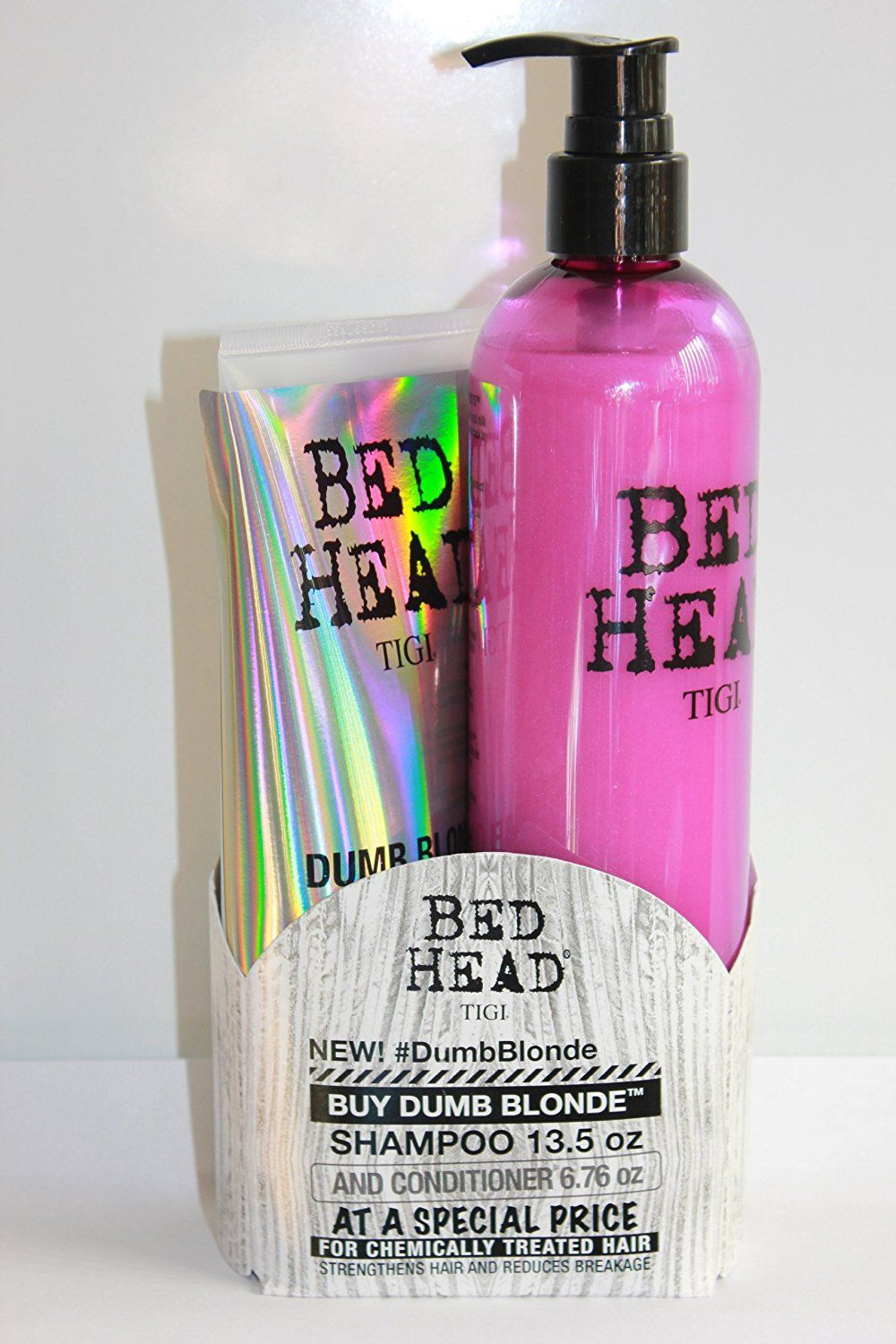 BED HEAD by TIGI, DUMB BLONDE SET for chemically treated