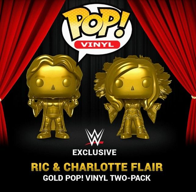 Charlotte Flair Vinyl Figure Item #38066 Funko Pop WWE