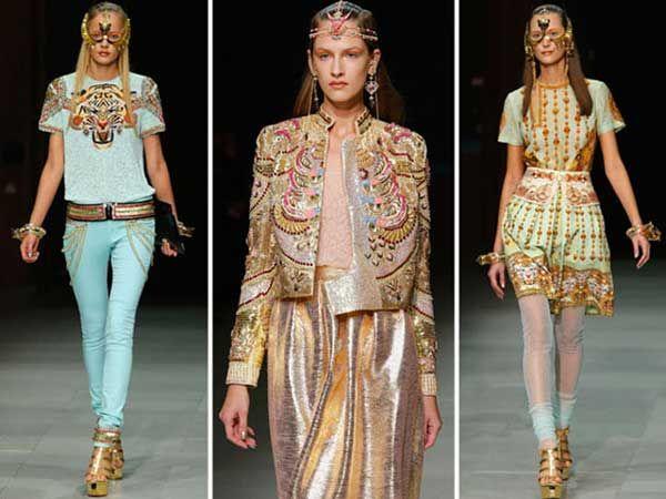 Manish Arora A Famous Indian Fashion Designer From Nift New Delhi Indian Inspired Fashion Indian Fashion Fashion