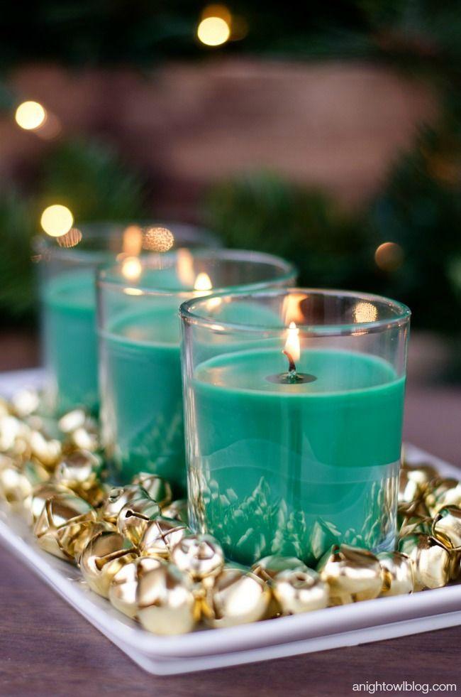 easy christmas centerpiece christmas decorating ideas christmas rh pinterest com
