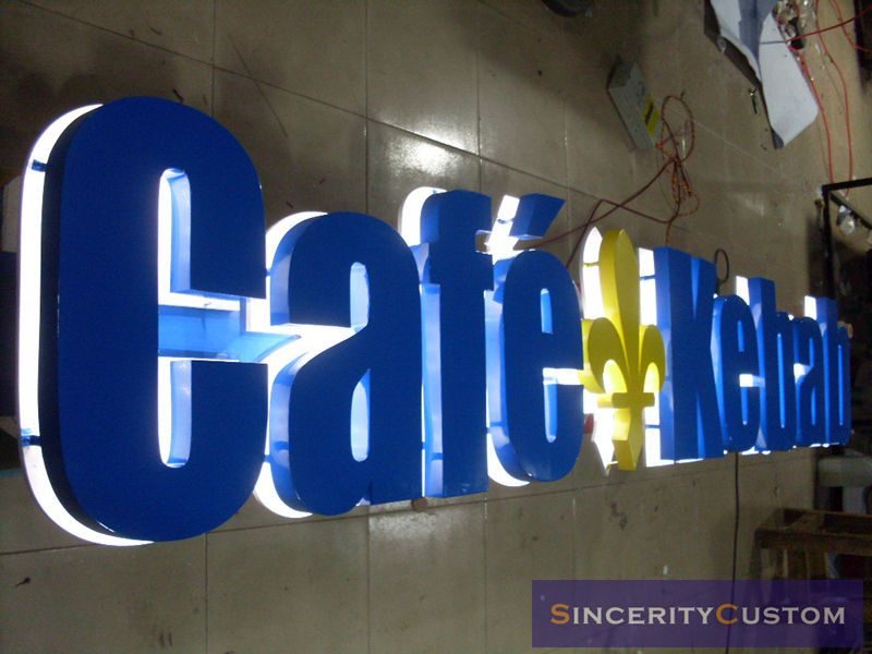 D Led Sign Letters Channel Letters Advertising Logos Signboard