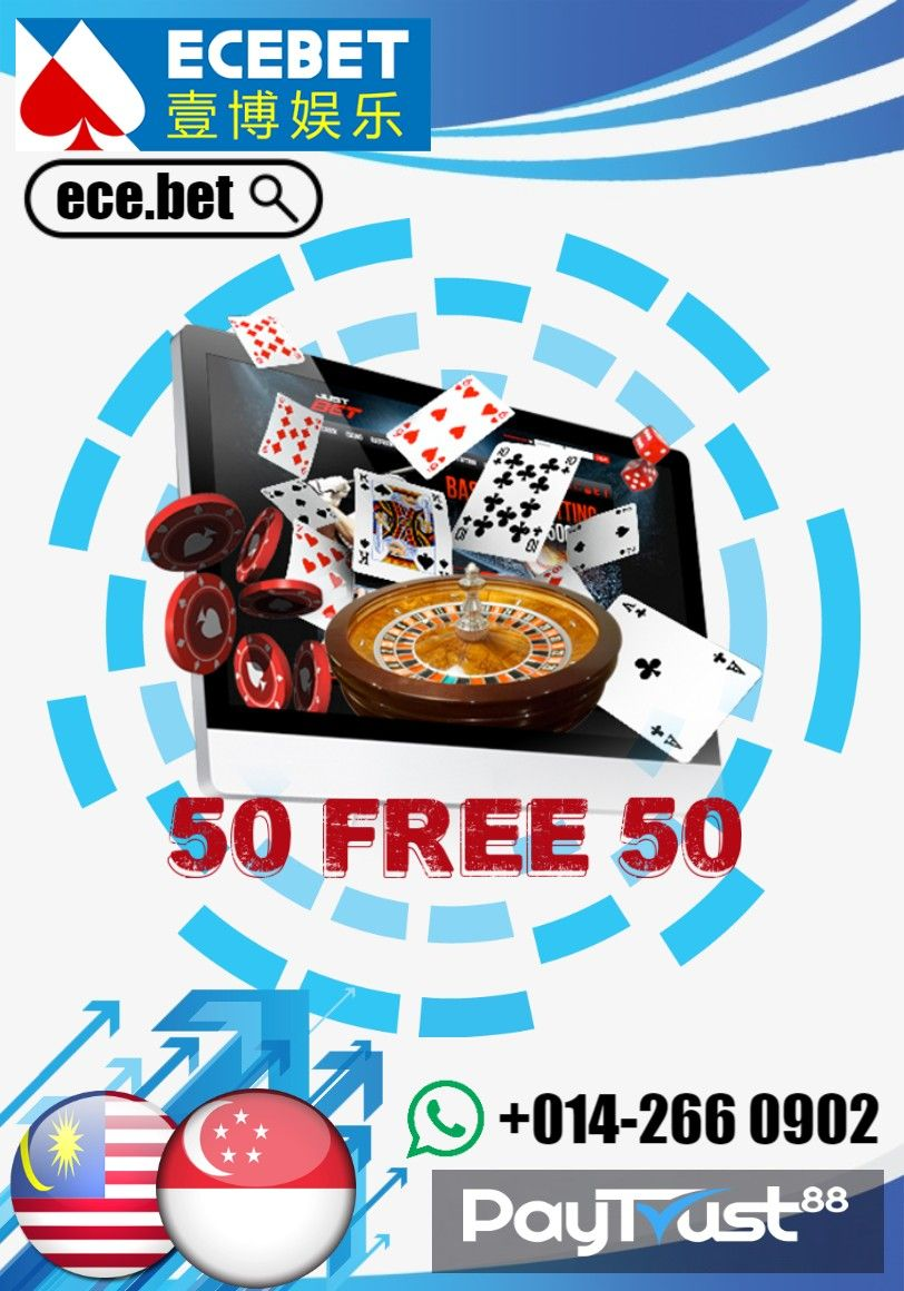 ECEBET NEW PROMOTION 50 FREE 50 NOW !!
