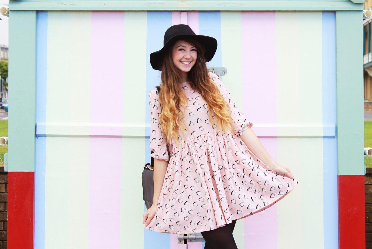 Pastel Hearts Beach Huts Zoella And Zoella Beauty