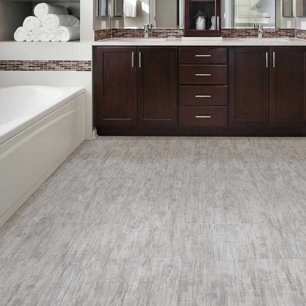 Lifeproof Brushed White 16 In W X 32 In L Luxury Vinyl Plank Flooring 24 89 Sq Ft Case I127611l The Home Depot Luxury Vinyl Plank Flooring Vinyl Plank Flooring Plank Flooring
